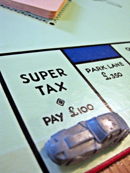 As richer people already enjoy their wealth, should we enact super taxes? (Photo thanks to Images_of_Money, found here: http://www.flickr.com/photos/59937401@N07/5857254592/sizes/l/in/photostream/)