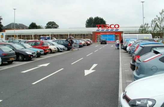 "Councillor Les Kew (Con, High Litteton) said: """"Everything about the Tesco development in Keynsham has been positive all the way through."" (Photo thanks to here: http://www.geograph.org.uk/photo/3086477)"