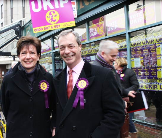 UKIP are very happy with their result. (Photo thanks to Jennifer Jane Mills)