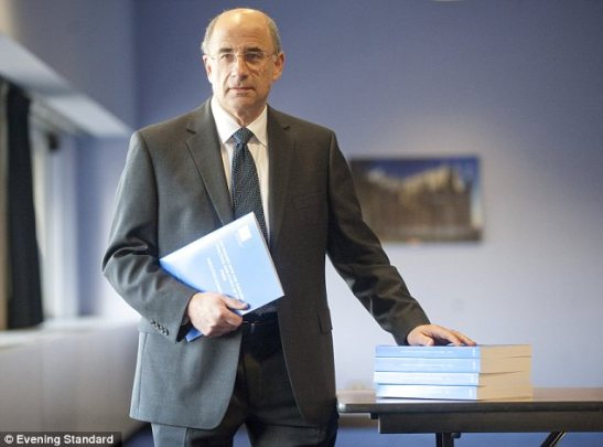 The Royal Charter has arisen from Lord Justice Leveson's proposals. (Photo: Evening Standard)