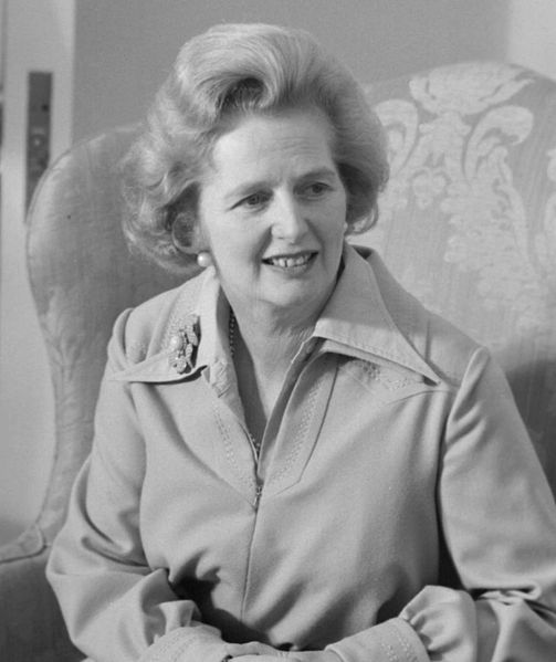 "Margaret Thatcher's argument was that society is a by-word for ""individual men and women"" and ""families""."