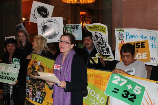 The minimum wage is an emotional topic, which is why poor research with political amplification damages the discussion on its real effects. (Photo: citizenactionny)