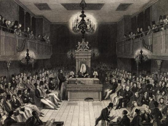 Debates are the essence of a parliamentary system. (Photo: bouletfermat)