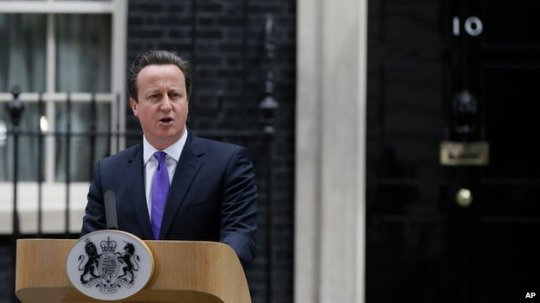 "Prime Minister David Cameron said: ""We will never give in to terror, or terrorism, in any of its forms."""