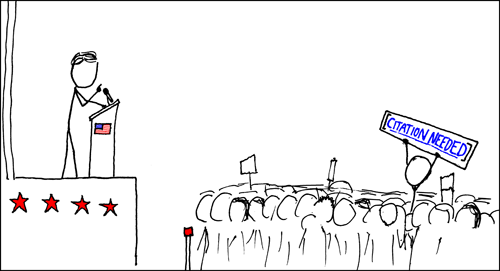 Strong claims require strong justification. (Photo: XKCD)
