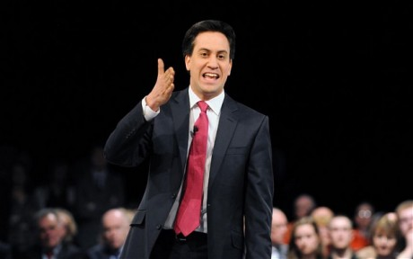 Ed Miliband has vigorously responded to the attack on his father's name. (Photo: Telegraph)