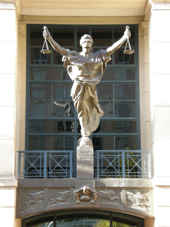 Unlike traditional justice, most theories of social justice are dependent upon results, rather than processes. (Photo: Dan4th)