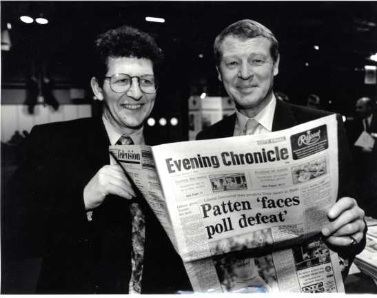 Don Foster sensationally defeated Conservative Chairman Chris Patten in 1992. (Photo: Don Foster)