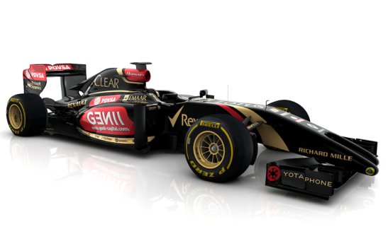 The Lotus E22's 'tuning fork' nose has been controversial. (Photo: Lotus F1)