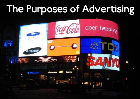 It is commonly held that advertising has a great effect on its viewers. (Edited: Wikimedia Commons)