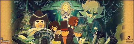 Professor Layton seeks to keep the Azran legacies out of the hands of Targent and Descole. (Photo: Level 5)