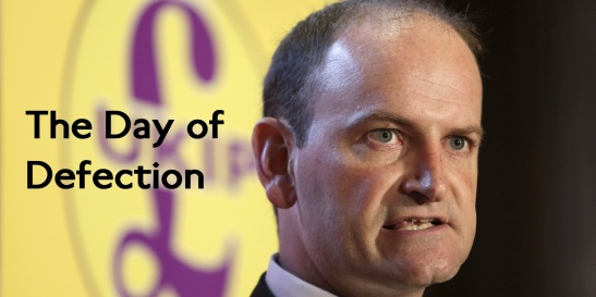 Douglas Carswell has defected to UKIP. (Edited: Chris Ratcliffe/Bloomberg)