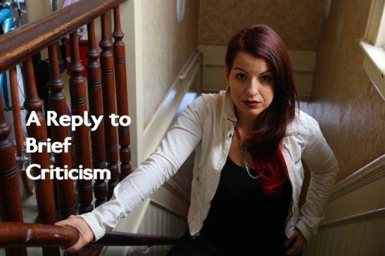 I may disagree with some of what Anita Sarkeesian says, but that does not make her a bad person. (Edited: Jim Wilson/The New York Times)
