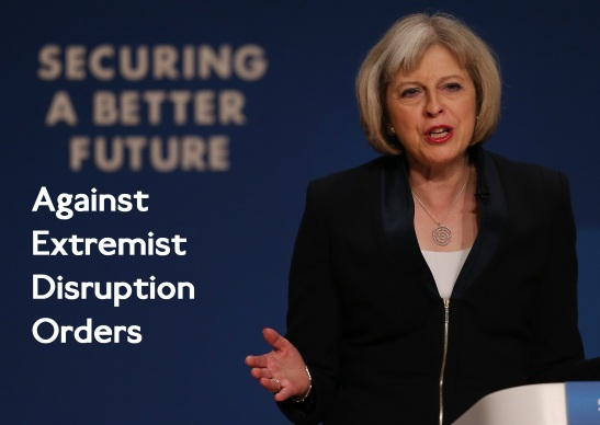 Home Secretary Theresa May has proposed extremists should be disrupted through court orders. (Edited: Peter MacDiarmid/Getty)