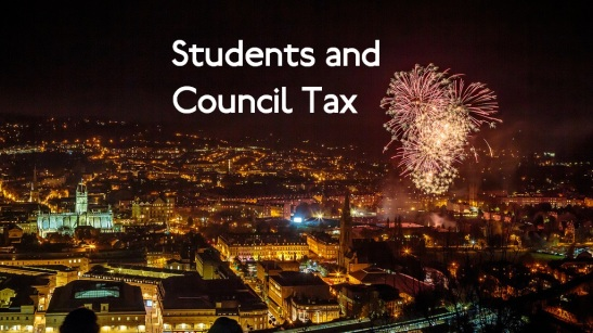 There is much consternation over the issue of students paying council tax. (Edited: Simon Giddings)