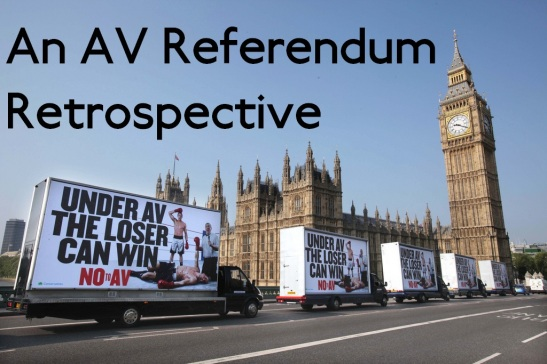 In 2011, the UK roundly rejected the Alternative Vote. (Edited: conservativeparty)