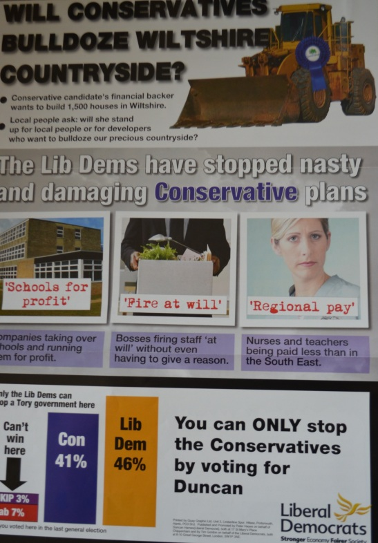 Labour can put a rosette on a donkey, but only the Conservatives can put rosettes on diggers.