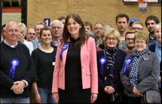 I'm not in this photo, which is probably a good thing as I'm not very pretty. (Source: Wiltshire Times)