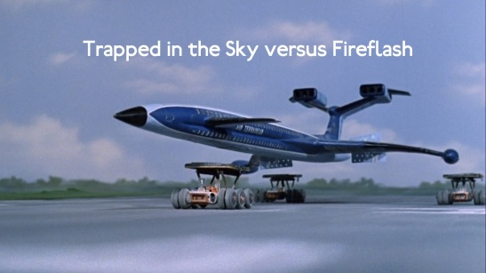 International Rescue attempt to land the Fireflash. (Edited: Antinitpicker)