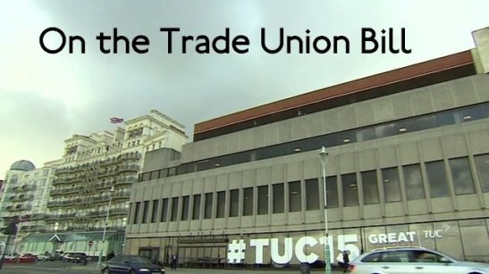 The Trade Union Bill has passed its first test within the Commons. (Edited: BBC)