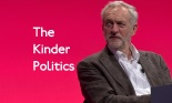 Jeremy Corbyn is the new leader of the Labour Party, and gave his first conference speech. (Edited: The Guardian)