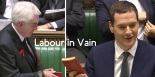 There was an unexpected turn of events during Labour's response to the Autumn Statement. (Edited: Huffington Post UK)