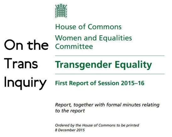 On-The-Trans-Inquiry-House-Of-Commons