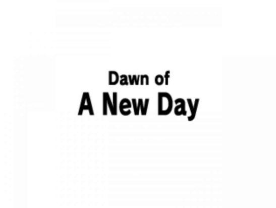 returning-dawn-of-a-new-day